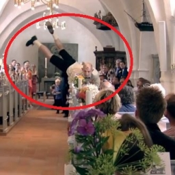 Ludzie czekali na ślub, jednak pan młody razem z kolegami postanowił zrobić coś
