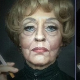Postanowiła użyć na sobie trochę makijażu. Nie będziesz w stanie uwierzyć w efek
