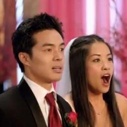 W życiu niespodziewali się że ktoś taki pojawi się na ich weselu...