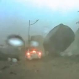 Czego możesz się spodziewać na drodze w czasie deszczu? Na pewno nie TEGO.