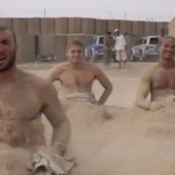 Amerykańscy żołnierze postanowili nagrać własną wersję teledysku do Call Me Mayb