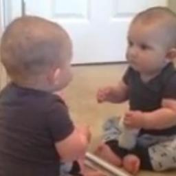 Maluszkowi obcięto włosy. Gdy spojrzał w lustro, nie mógł zareagować zabawniej!