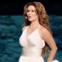 Shania Twain wystąpiła na scenie w towarzystwie wyjątkowego przystojniaka :) Skr