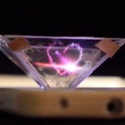 Czy wiesz że możesz zrobić wyświetlacz hologramów ze swojego telefonu?