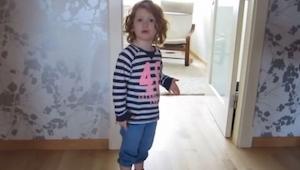 Tata poprosił córkę by posprzątała pokój. Takiej reakcji się nie spodziewasz