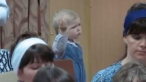 Rodzice zabrali córeczkę na próbę chóru, to co się stało potem jest świetne!