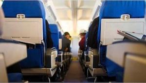 Poruszająca chwila gdy pilot Germanwings obiecuje pasażerom, że dowiezie ich bez