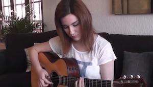 Zaczęła grać na gitarze Hotel California, już po chwili nie mogłam oderwać się o
