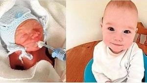 Właśnie obchodził pierwsze urodziny chłopiec, który według lekarzy powinien był