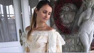 W rodzinie tej dziewczyny panny młode występują od 120 lat w tej samej sukni ślu