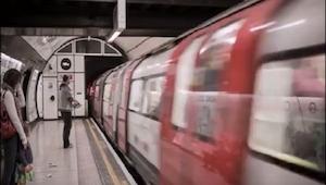 Oto iluzja optyczna która sprawi że pociąg zmieni kierunek jazdy
