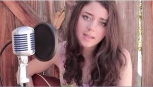 Siedemnastolatka wykonuje przepiękny cover piosenki Elvisa Presleya!