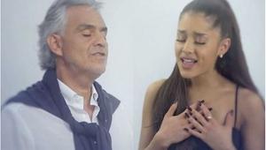 Andrea Bocelli i Ariana Grande połączyli swoje siły i stworzyli niezwykłą piosen