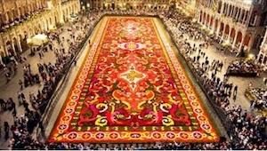 Będziesz zaskoczony, gdy dowiesz się, z czego został wykonany ten dywan! To się