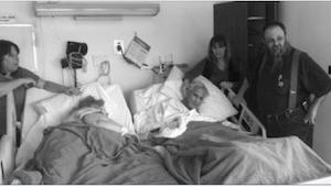 Byli małżeństwem przez 60 lat. To, co powiedział jej mąż w ostatnich godzinach ż
