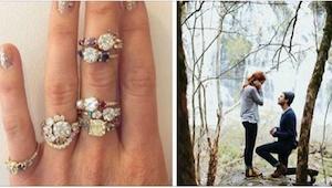 Jeśli myślicie o zaręczynach, zobaczcie najmodniejsze pierścionki!