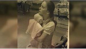 W 1977 roku pewna pielęgniarka opiekowała się poparzonym dzieckiem. Nie spodziew