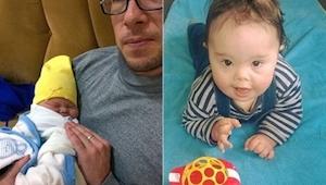 Ojciec odmówił opuszczenia dziecka chorego na zespół Downa. Rok później stało si