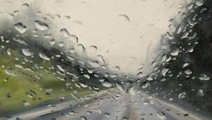 Myślałam, że to zdjęcie drogi zrobione podczas deszczu. Byłam w szoku, gdy dowie