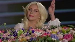 Lady Gaga wyszła na scenę. To co zrobiła za chwilę było magiczne!