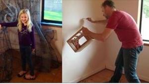 1,5 roku szykował pokój swojej córeczki. Efekt jest naprawdę wyjątkowy!