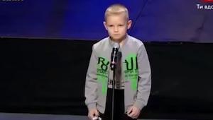 To miał być kolejny występ w programie, ale ten chłopiec zrobił coś czego nikt s