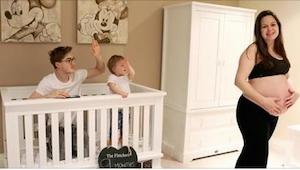 Piosenkarz stworzył świetny film pokazujący jego żonę w ciąży, ale... całą uwagę