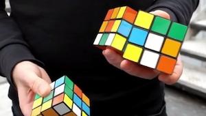Patrz uważnie na kostki Rubika, to co za chwilę się stanie mocno cię zakoczy!