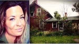 Postanowiła wejść do opuszczonego domu. Nigdy nie spodziewałaby się natknąć tam