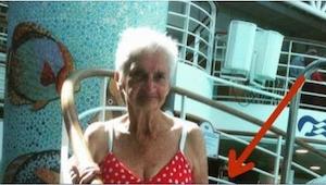 Rodzina 90-latki twierdzi, że kobieta powinna chodzić w bikini. I TYM zdjęciem p