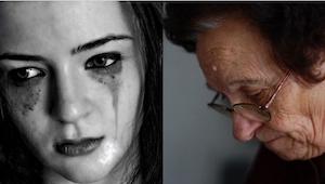 Gdy wnuczka z płaczem powiedziała jej, że życie jest zbyt trudne, babcia pokazał