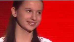 13-latka ma głos nie z tego świata! I wybrała bardzo pasującą do tego głosu pios