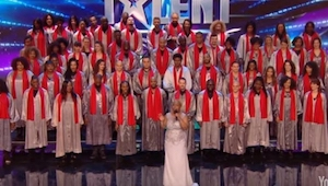 Zobacz porywający występ chóru w programie Mam Talent!