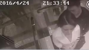 Znalazła się sam na sam w windzie z obcym mężczyzną. To, co zrobił, jest przeraż