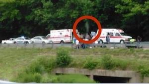 Kierowca ciężarówki zrobił zdjęcie z miejsca wypadku motocyklowego, a kiedy opub