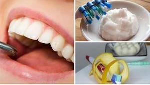 Zapomnijcie o wydawaniu pieniędzy na zabiegi wybielające zęby! Wystarczy, że...