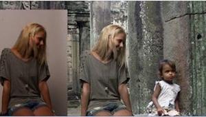 To, co zrobiła ta blondynka, zbulwersowało wszystkich. Też dalibyście się nabrać