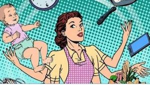 Mąż w domu to zdaniem naukowców... więcej pracy dla kobiety! Zobaczcie, o ile go