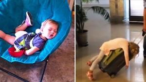 Dzieci potrafią zasnąć wszędzie! Zobaczcie galerię 21 zdjęć, które to udowodnią!