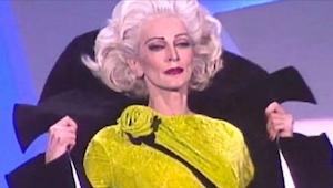 Widzowie zamarli, gdy na wybieg wyszła 85-letnia modelka. Wyglądała lepiej niż n