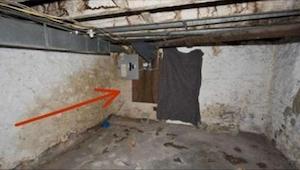 Chciał zdemontować ścianę w piwnicy. To, co za nią znalazł, jest trudne do opisa