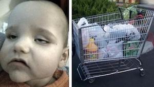 Podczas zakupów posadziła go w wózku. Nie sądziła, że właśnie naraża swoje dziec