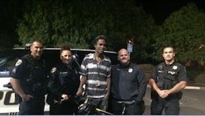 Chłopak był w drodze od 4 godzin, gdy zatrzymała go policja. Kiedy policjanci do