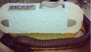 Mama upiekła mu tort w kształcie odkurzacza. To, co stało się potem, jest genial