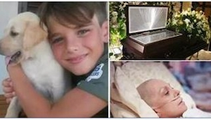 Nikt nie przypuszczał, że syn chorej na raka zareaguje w taki sposób na wiadomoś