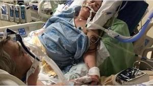 Umierający pacjent miał ostatnie życzenie. Aby je spełnić, szpital złamał jedną