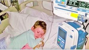 Jedno ze zdjęć czterolatki chorej na raka zdumiało świat. A wiec tak naprawdę wy