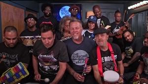 Nie wiedziałam, że muzycy z zespołu Metallica mają TAKIE poczucie humoru! To, co