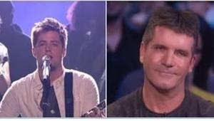 Sam Simon Cowell poprosił go, by zaśpiewał akurat ten utwór. Okazało się, że ma