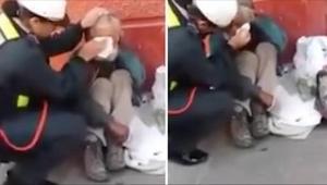 Policjantka nie wiedziała, że jest nagrywana. Zobaczcie, co zrobiła, gdy zbliżył